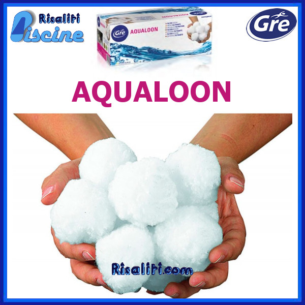 AQ700 Materiale Filtrante Aqualoon Gre sacco 700 g www.risaliti.com