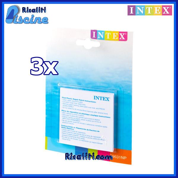 3x 59631 toppa riparazione piscina intex intex for Riparare piscina