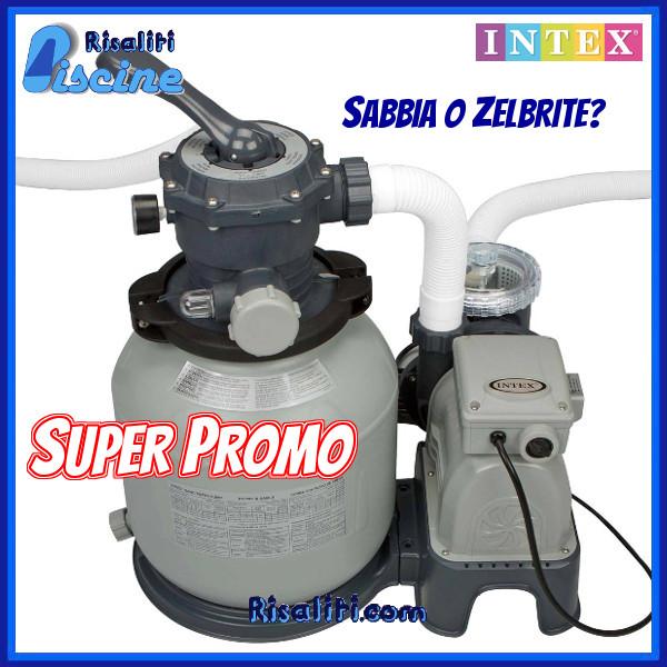 Filtro sabbia 7,9 mc Piscina fuoriterra Intex 28646 www.risaliti.com