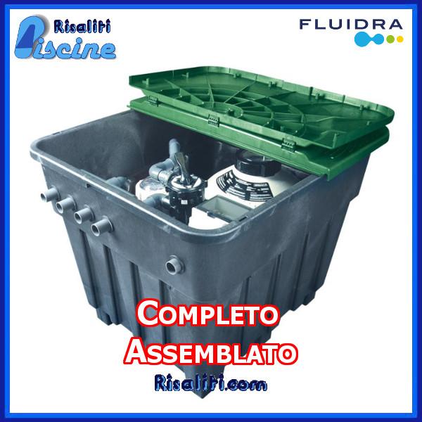 Impianto Piscina 10X5 con Filtro a Sabbia Completo  www.risaliti.com
