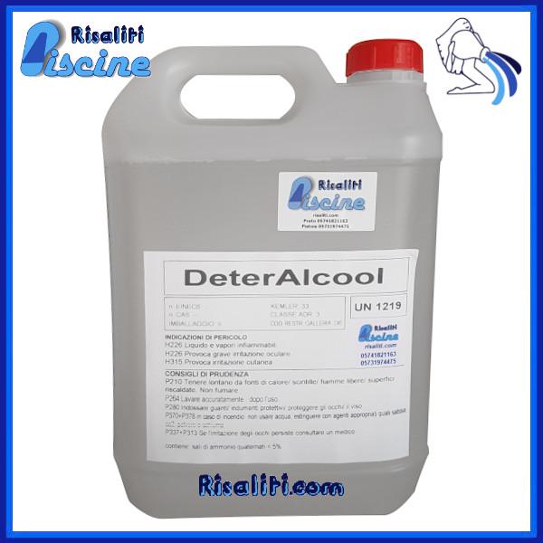 DeterAlcool Disinfettante Superfici 5 kg www.risaliti.com