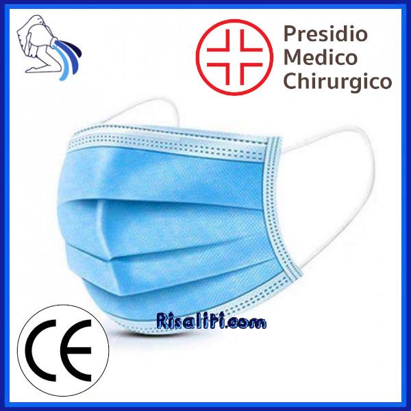 Mascherine Chirurgiche Monouso CE www.risaliti.com