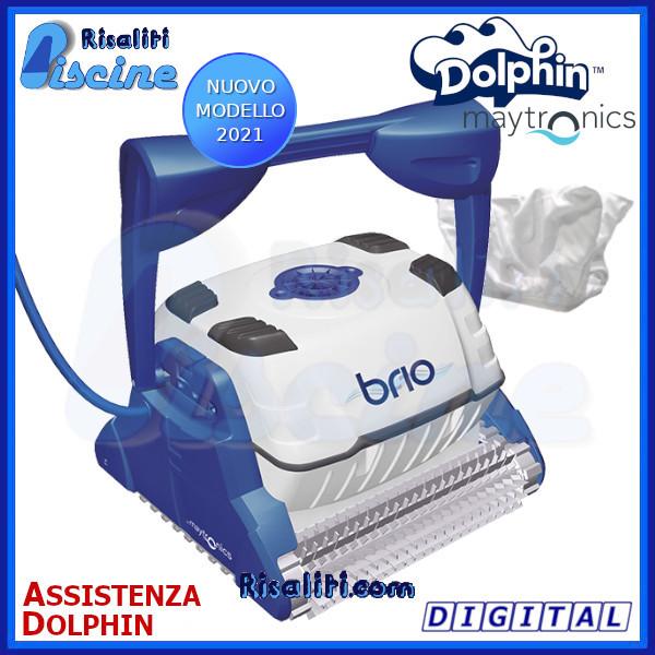 Dolphin Brio Digital Robot Pulitore Piscina  www.risaliti.com