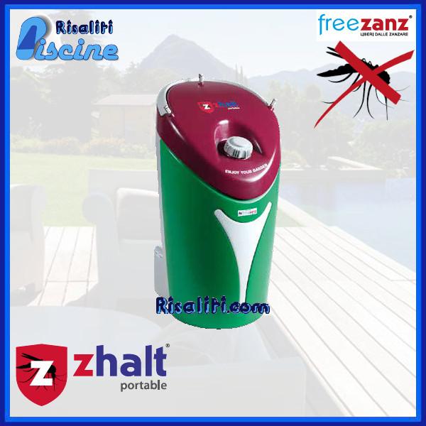 Antizanzare Nebulizzazione Zhalt Portable Batteria www.risaliti.com
